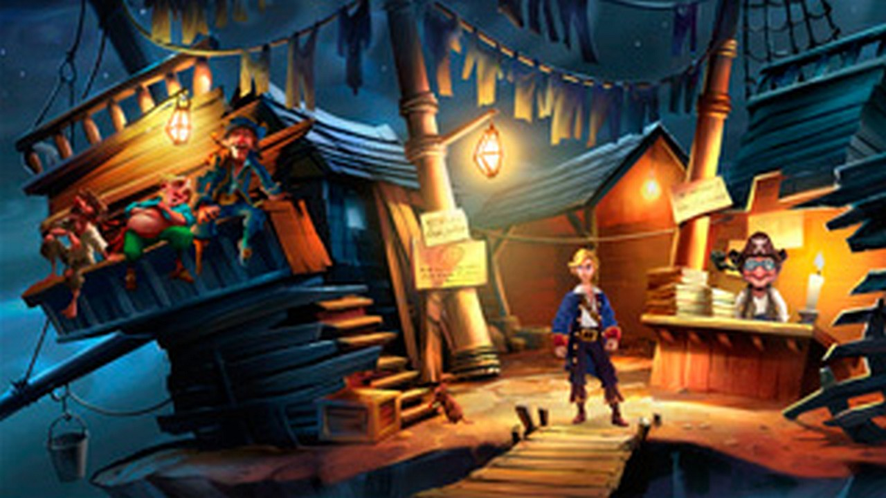 Monkey Island, Screenshot