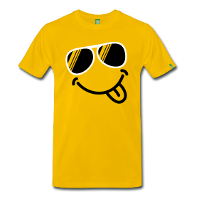Sommer Shirts: Smiley