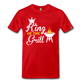 Sommer Shirt: King of the Grill