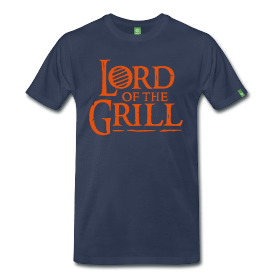 Sommer Shirt: Lord of the Grill