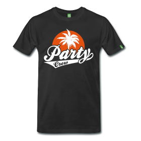 Sommer Shirt: Party Crew