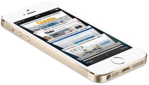 iPhone 5S in goldenem Farbton, Apple, apple.com