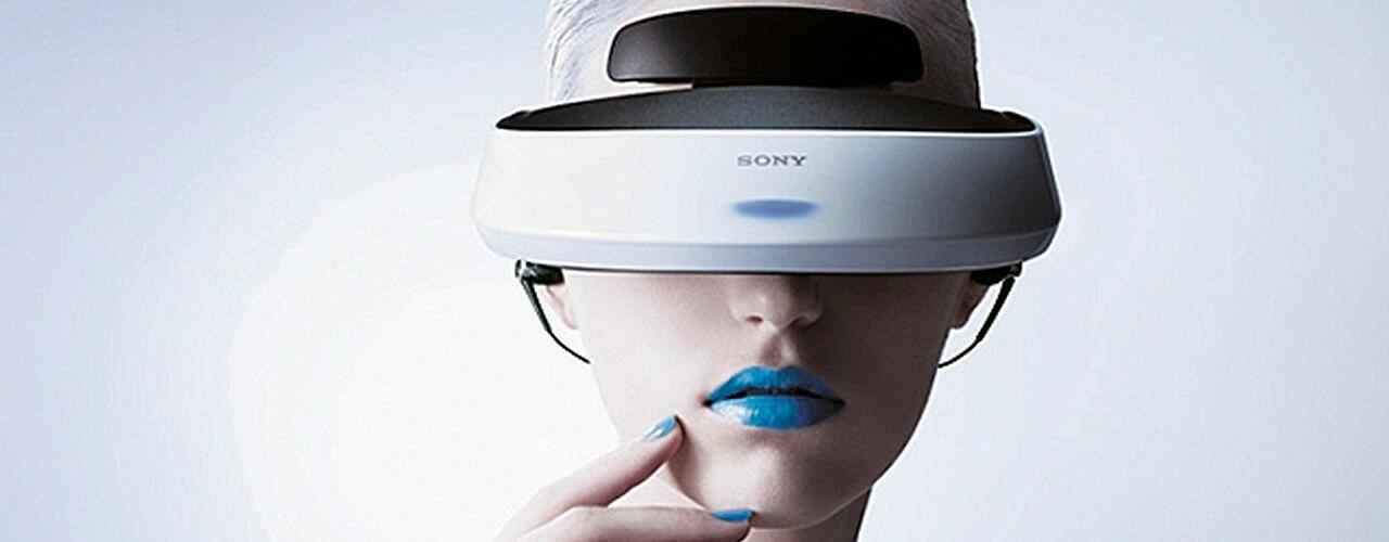 Das Virtual Reality Headset von SONY
