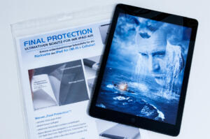Final Protection iPad Air Schutzfolie, iPad Air und Folie