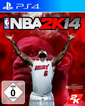 NBA 2K14 (PS4), Packshot