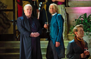 Philip Seymour Hoffman und Woody Harrelson in DIE TRIBUTE VON PANEM - Catching Fire
