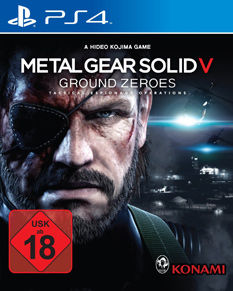 Metal Gear Solid V: Ground Zeroes, Packshot