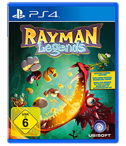 Rayman Legends (PS4), Packshot