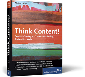 Think Content!, Cover