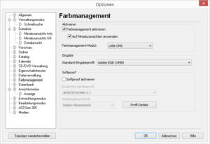 ACDSee Pro 7 - Farbmanagement