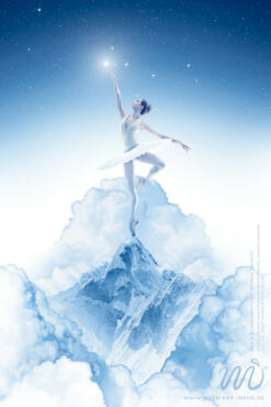 Die Ballerina - Photoshop Composing by Marco Kolditz