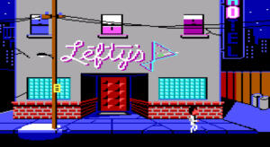 Leisure Suit Larry in the Land of the Lounge Wizards (Screenshot)