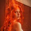 Girl on Fire by Marco Kolditz